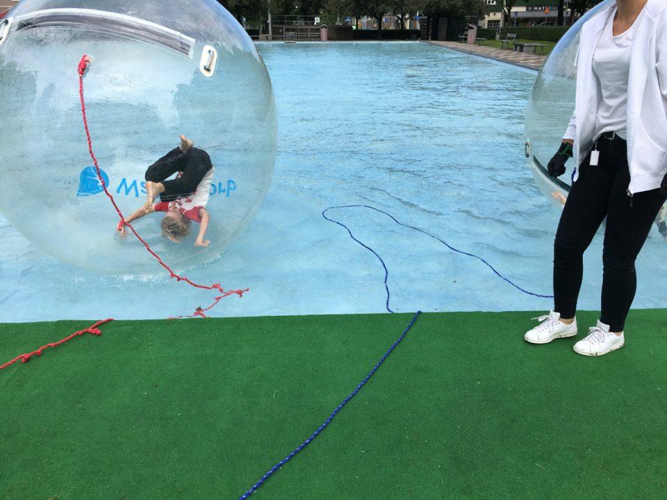 Plaskis majorna linne Göteborg stad waterzorb - vattenbollar i göteborg