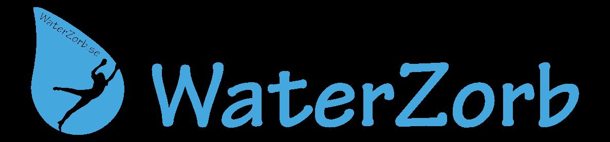 logo waterzorb stor vattenbollar orginal